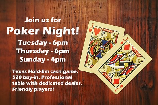 Seaview, WA: Poker night Tue-Thu-Sun. Cash game, dedicated dealer, nice table. Drinks at table!