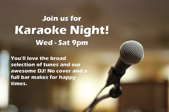 Seaview, WA: Best Karaoke in Long Beach area! Wed thru Sat starting at 9pm.