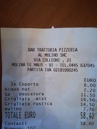 Malo, Italie: Al Molino