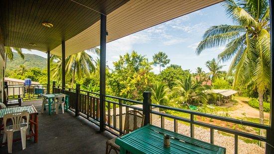 Balcony - Picture of Love Station Hostel, Ko Pha Ngan - Tripadvisor