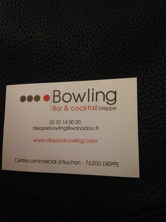Dieppe Bowling Carte De Visite