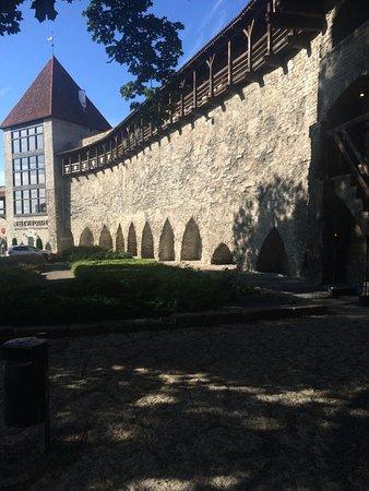 Tallinn City Tour : ресторан на холме