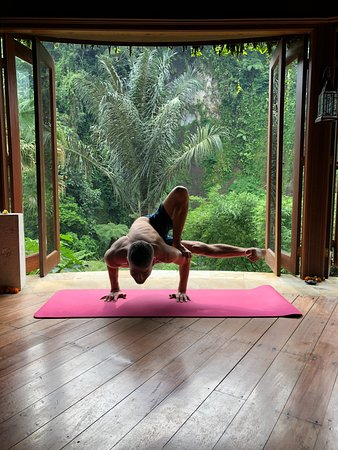 Bagus Jati Health & Wellbeing Retreat: Yoga room