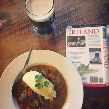 Crosshaven, Ireland: Guinness stew, Guinness, next day planning