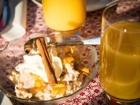 Goeschenen, Switzerland: Frühstück
