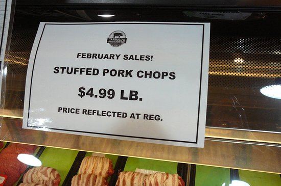 Ashburn, GA: Stuffed Pork Chop February sale