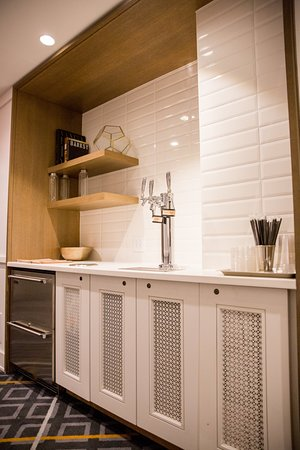 Complimentary hydration stations on each guest floor