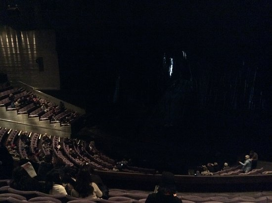National Theatre: Highest seat in Olivier