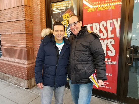 Jersey Boys: After the show -- a wonderful actor