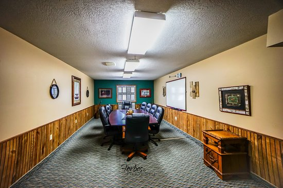 Kalkaska, MI: Northern Michigan decorated Executive Board room seats up to 14 comfortably