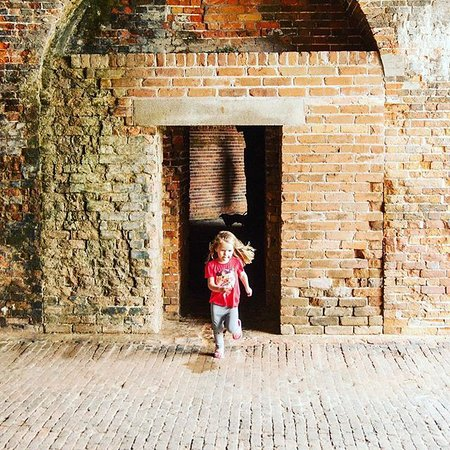 Your children will enjoy exploring the history of Fort Morgan and the Civil War Trail