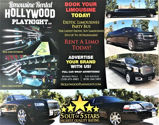 Limousine services- hollywoodplaynight com - Picture of Hollywood