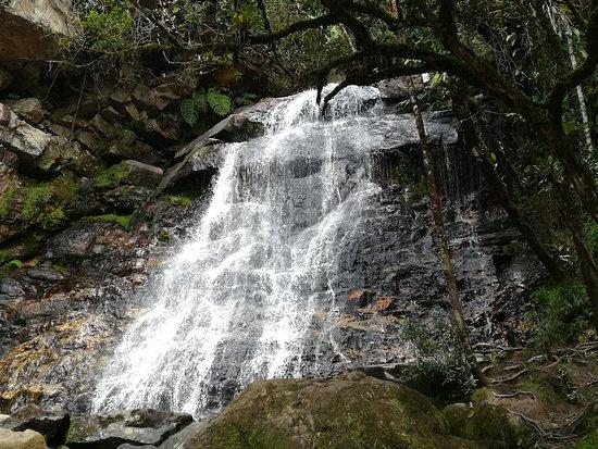Gachantiva, Колумбия: Foto de la segunda cascada que se puede visitar
