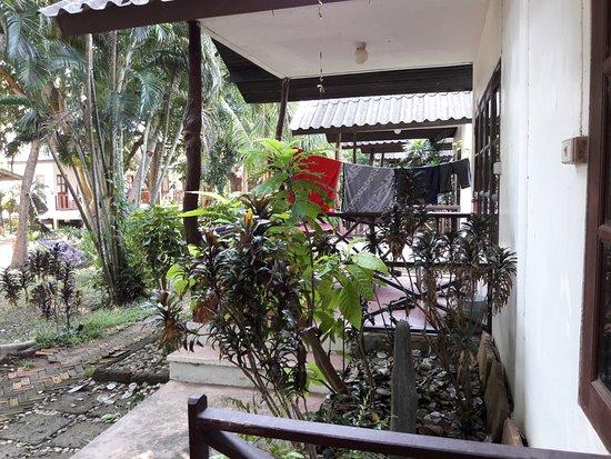 The Cottage Samui : Вид с нашей терраски.