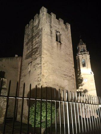 Torredembarra, España: Junto a la Iglesia