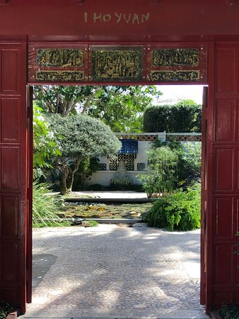 The Society Of Four Arts Doorway To Anese Garden