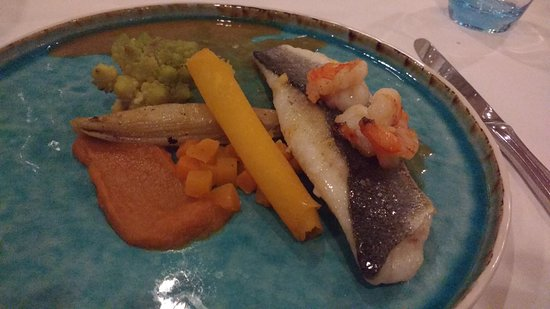 Vlodrop, The Netherlands: 3-course menu - pike perch main course