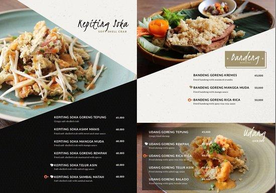 Carte Bali Legian.Our Ala Carte Menu Picture Of Warung Ipang Bali Kuta