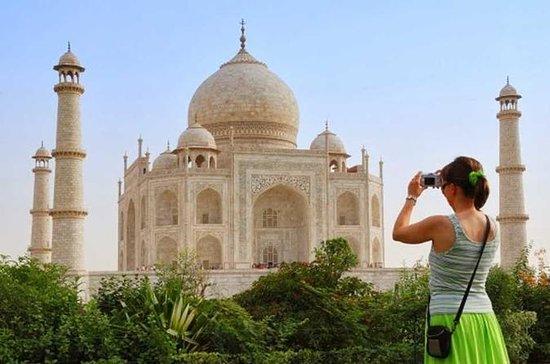 Agra: Ingresso sem fila para o Taj...