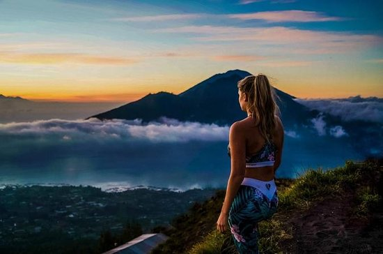 Batur Volcano Sunrise Trekking with Breakfast, Transfer, Coffee and...