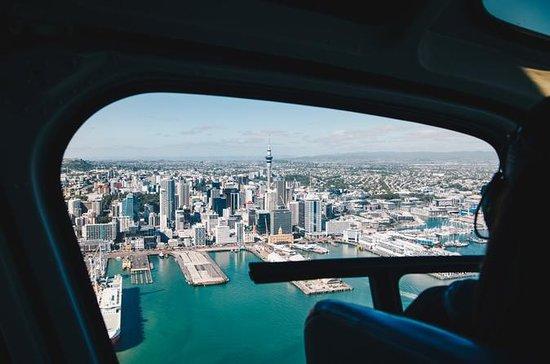 Auckland Helicopter & Waiheke Winery...