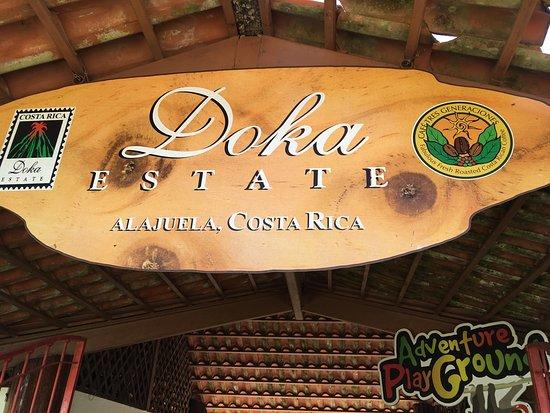 Poas Volcano National Park, Κόστα Ρίκα: Coffee tour