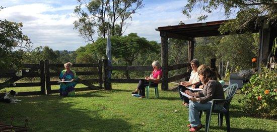 Amamoor, Avustralya: Plein Air workshop