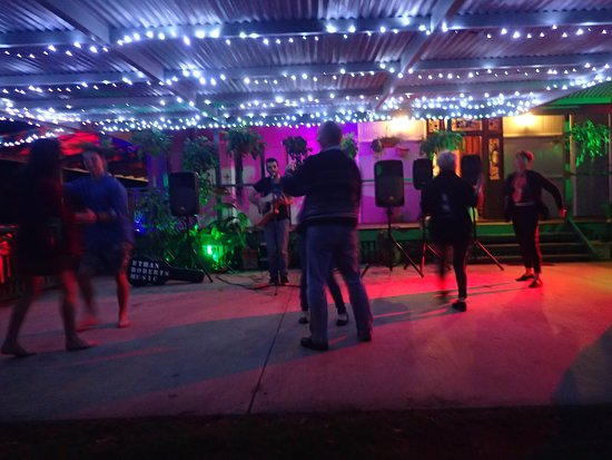 Amamoor, Australien: Dancing the night away
