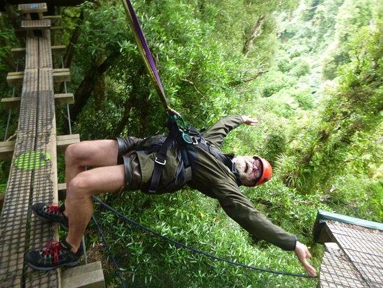 Rotorua Canopy Tours: Alle Angst überwunden, nur noch Genuss