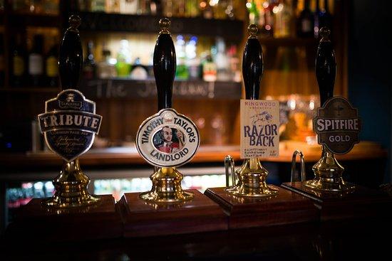 Denton, UK: Fine ales always on tap!