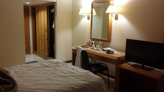 Sierra Hotels Burgers Park : Spacious room allocated...