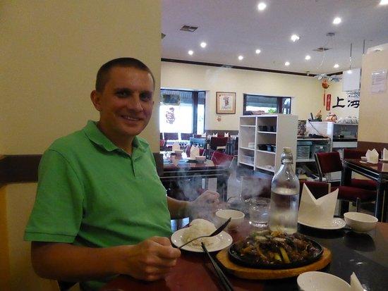 Parkside, Australie : Moje danie na gorącym półmisku...