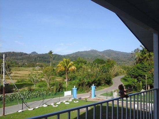 Tambunan, Malaysia: View from balcony
