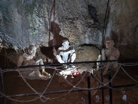 Dryanovo, Bulgaria: The first inhabitants of the cave :).