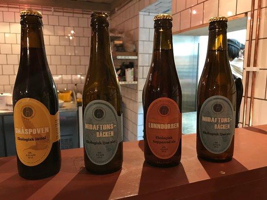 Undersaker, Sweden: Ottsjö brygghus egna ölsorter
