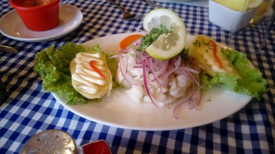 Arica and Parinacota Region, Χιλή: Un exquisito ceviche