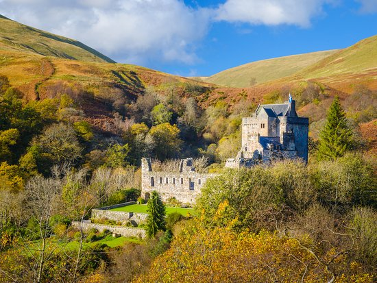 Castle Campbell, Dollar Glen. © Discover Clackmannanshire / Damian Shields, all rights reserved