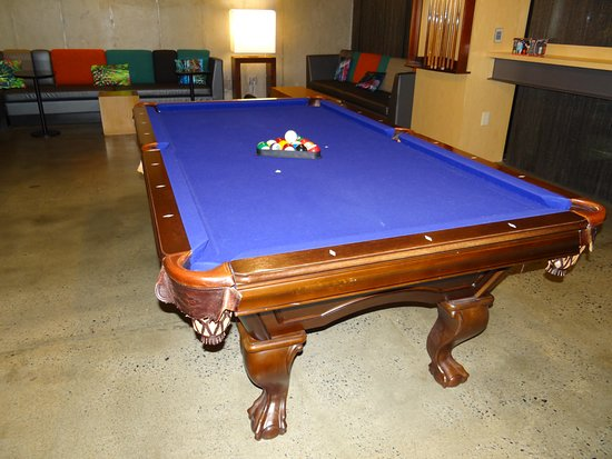 Ordinaire Aloft Atlanta Downtown: 8u0027 Pool Table Is Well Maintaned