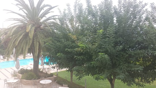 Messinian Bay Hotel: View from my room