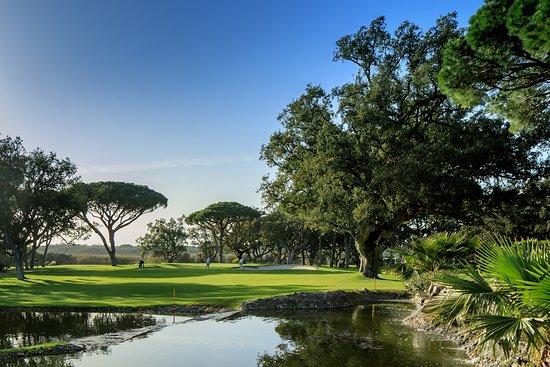 Vale do Lobo Resort: Golf views in Vale do Lobo