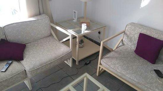 Villas Puerto Rubicon: Furniture from the ark !