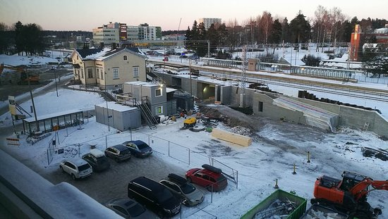 View from Superior room 512 Picture of Scandic Jarvenpaa