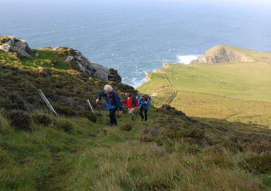 County Kerry, Ireland: Kerry - Walking-on-valentia-Island