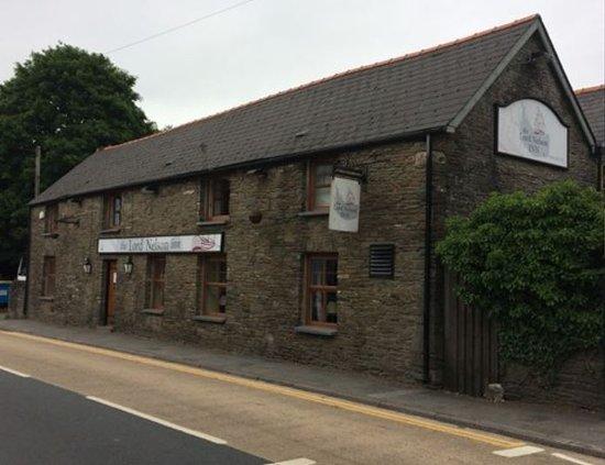 """Nelson, UK: 18th Century pub - film location for BBC's supernatural drama """"Requiem"""""""