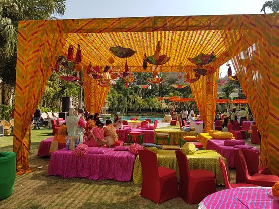 Wedding decorations picture of le meridien jaipur resort spa le meridien jaipur resort spa wedding decorations junglespirit Images