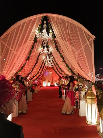 Wedding Decorations Picture Of Le Meridien Jaipur Resort Spa