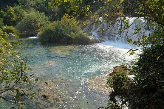 Sibenik-Knin County, Croatie : water