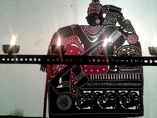 Shoranur, Indien: puppet of sreerama
