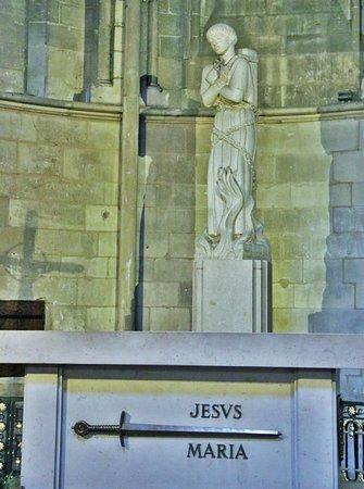 Cathedrale Notre-Dame de Rouen: Jeanne d'arc, cathédrale Notre-Dame de Rouen