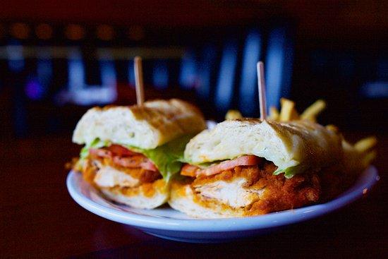 Elk Grove, CA: Buffalo Chicken Sandwich